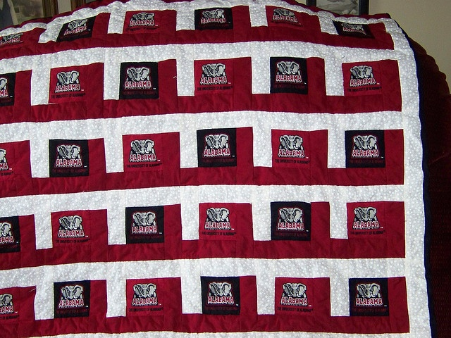 Crimson Quilt Quilts Roll Tide Quilts Pinterest
