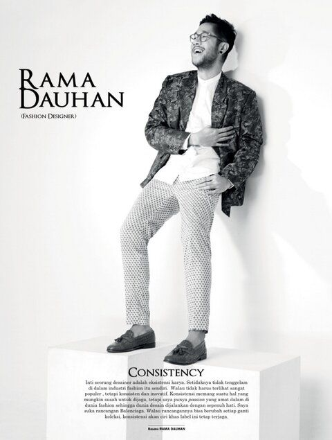 RAMA DAUHAN  IKONOGRAPHY 2014  KUNINGAN CITY  for MEN'S FOLIO 1st ANNIVERSARY ISSUE  #iKonography2014 #KuninganCity
