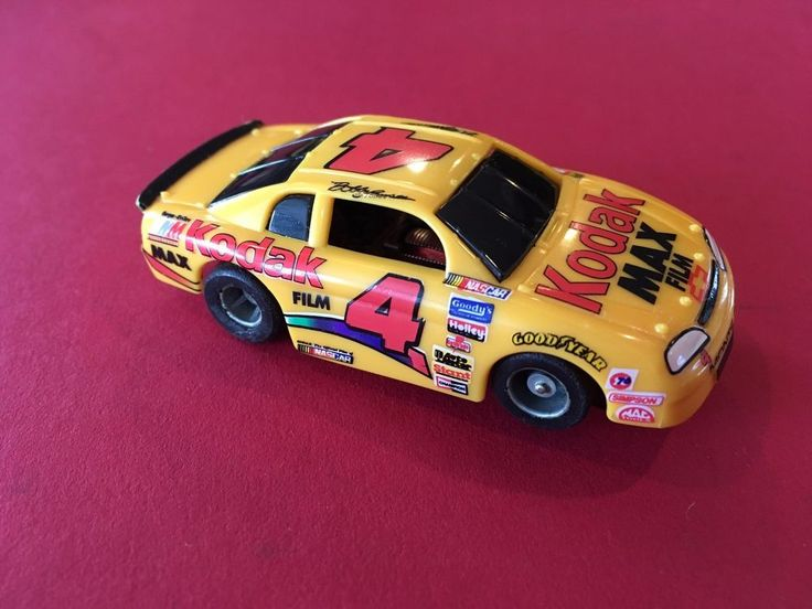 NICE VINTAGE NASCAR SLOT CARS YELLOW CHEVROLET TYCO SLOT CAR  | Toys & Hobbies, Slot Cars, HO Scale | eBay!
