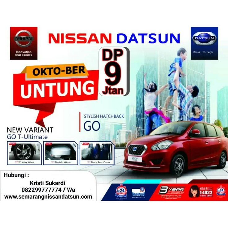 NEW VARIANT  DATSUN GO T - ULTIMATE Ready Only In White & Red Colours Limited Stock !! - Velg Racing R15 - Electrict Mirror - Black Seat Cover  #datsun #datsungo #hatchback #datsunnusantara #semarang #dealerresmi #dealersemarang #dealerpusat #limitededition #limitedpromo #hotpromo #oktober