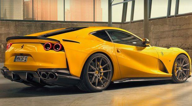 Novitec Ferrari 812 Superfast Yellow Makeover Sports Cars Super Cars New Sports Cars