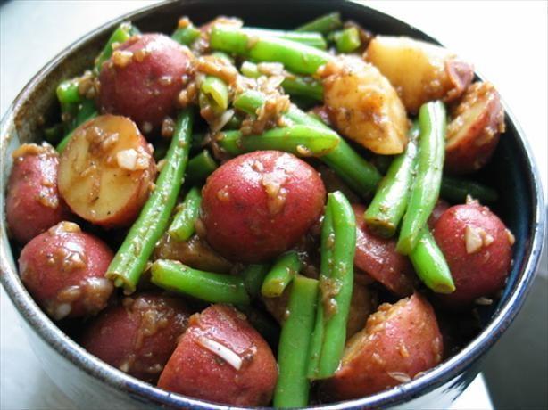 Potato and Green Bean Salad With Balsamic Vinaigrette: