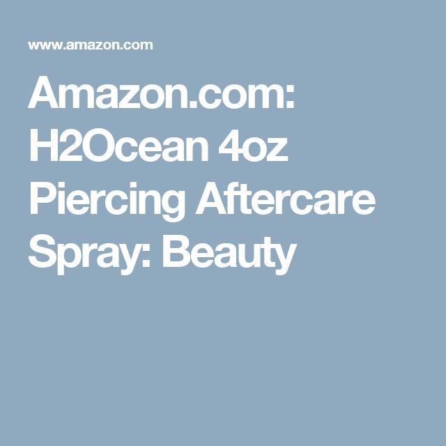 Amazon.com: H2Ocean 4oz Piercing Aftercare Spray: Beauty
