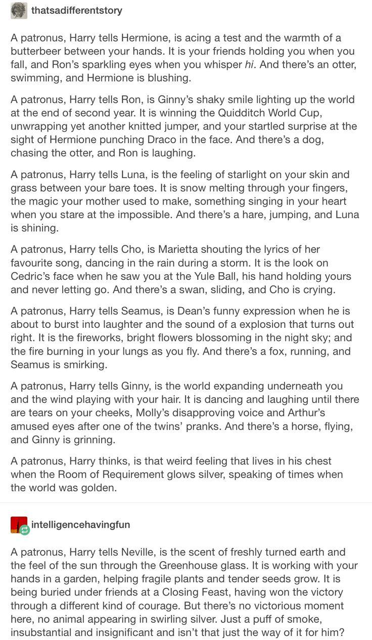 a patronus part 1/2 // Harry Potter, hp, Neville longbottom, hermione granger, Ron Weasley, romione, Ginny Weasley, Luna lovegood, cho Chang, Marietta edgecombe, Cedric diggory, chedric, cho x Cedric, Cedric x cho, Seamus finnigan, dean Thomas, Seamus x dean, dean x Seamus, deamus, Ginny Weasley, Mosley Weasley, Arthur Weasley, Fred Weasley, George Weasley