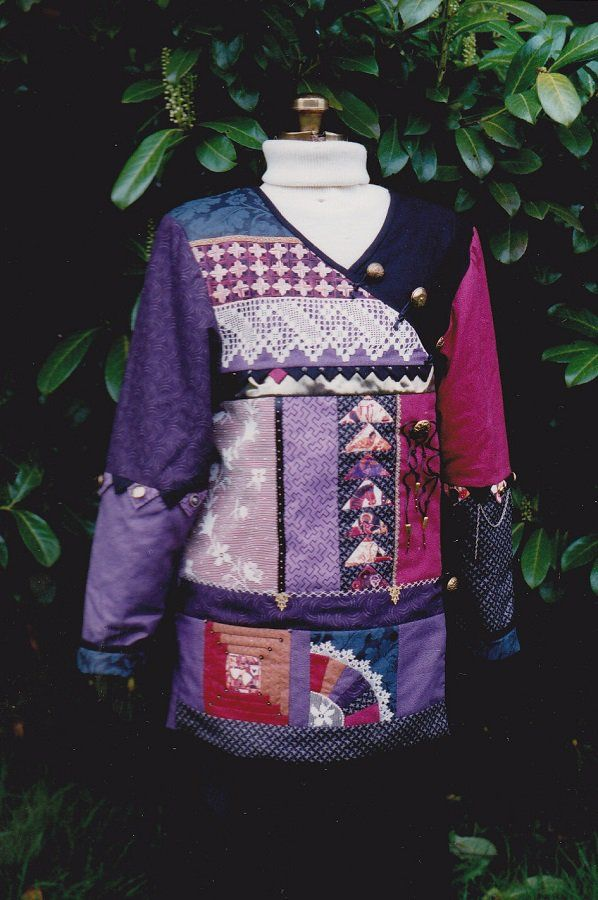 Sampler Quilted Jacket Patterns, S,M,L (10-20) Of My Hands Uncut