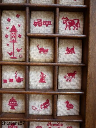 Embroidered Box.