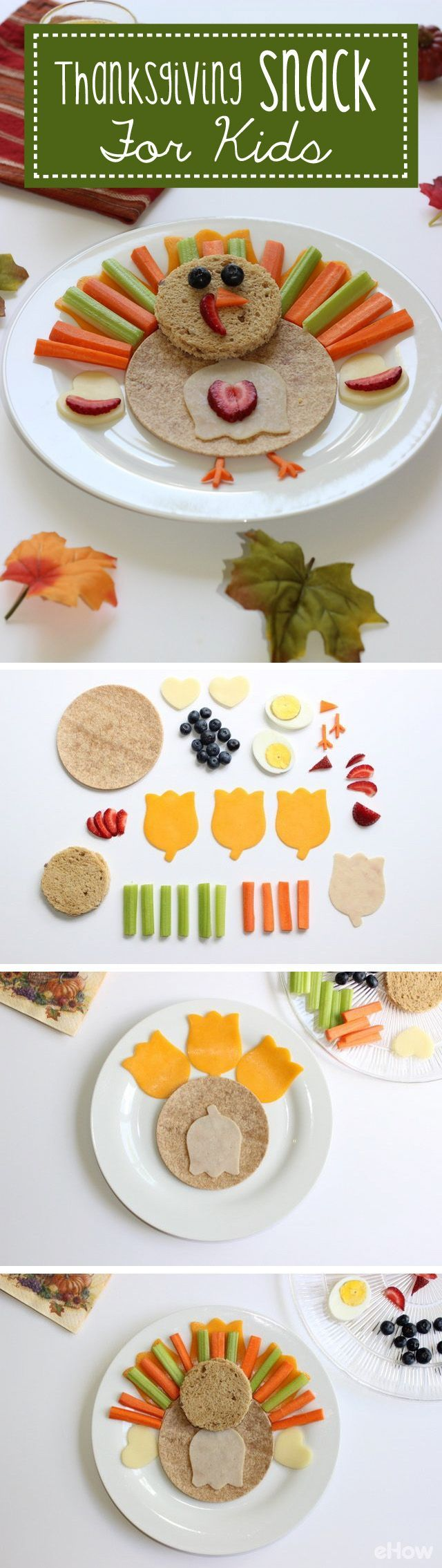 Play with your food, and eat it too! This Thanksgiving, make your kids smile by mixing playtime and snack time with this edible DIY. Not only will it promote healthy eating habits, but your kids will love putting them together, too. http://www.ehow.com/how_12340973_diy-thanksgiving-snack-kids.html?utm_source=pinterest.com&utm_medium=referral&utm_content=freestyle&utm_campaign=fanpage