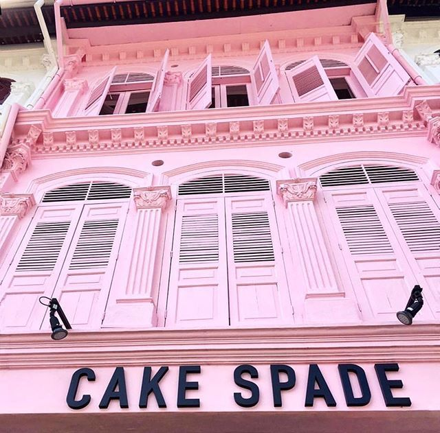 In case you missed, YES WE HAVE MOVED!  Come have cakes and coffee with us at 83 Tanjong Pagar Road, located within a pretty pink shophouse! It's gonna be a better experience here with much more room and new products to our menu! See ya! - 📷: @amazinggrace_tay