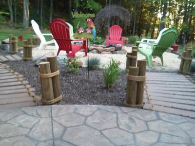 Beach Backyard Ideas backyard beach fire pit buried and loose laid brick area is accented with a Backyard Makeover Turned Out Much Better Than We Ever Anticipated We Now Have The Best Backyard Beachbackyard Ideasbackyard