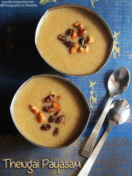 Arisi Thengai Payasam Recipe