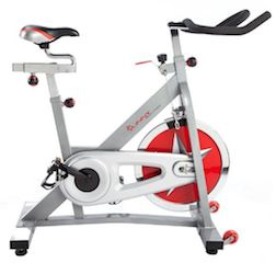 Spin out and tone up.  The Sunny Pro Indoor Cycle is one of the best selling bikes in the market. http://www.topfitnessmag.com/indoor-bike-reviews/sunny-health-fitness-sf-b901-pro-indoor-cycling-bike-review/