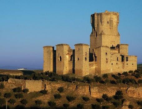 ...castillo medieval comarca Los Pedroches, Spain