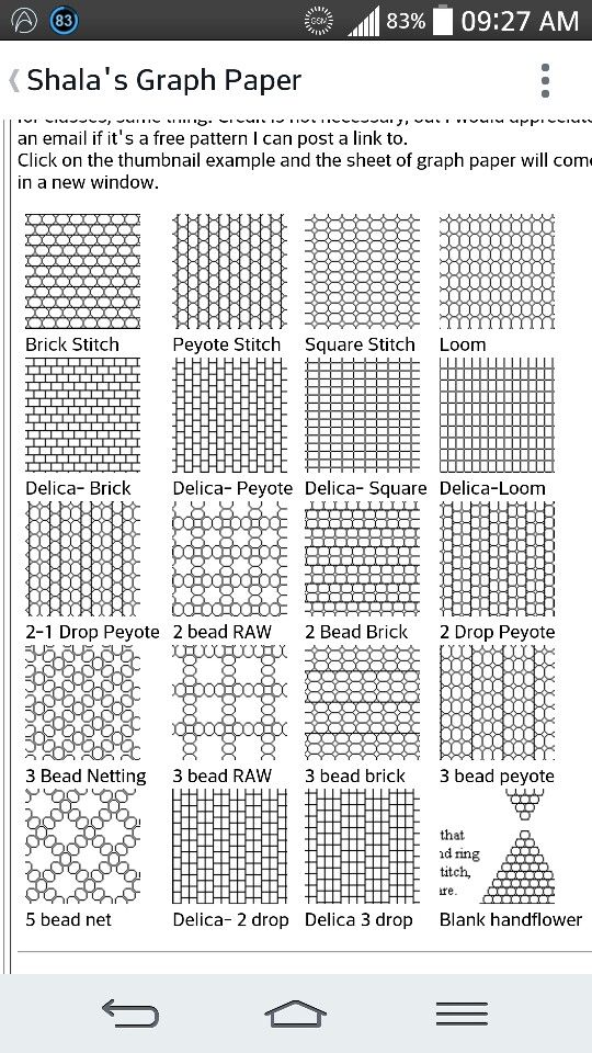 1000  images about beading graph paper on pinterest