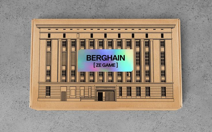 Berghain ze Game on Packaging of the World - Creative Package Design Gallery