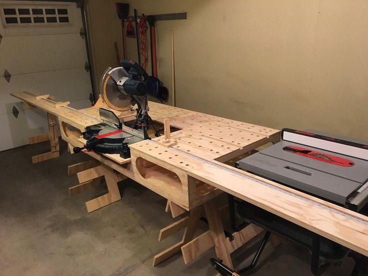 We're checking out Josh's Paulk Total Station! #ronpaulk #thepaulkworkbench #paulkworkbench #woodworking #construction #tools #sawstop #dewalt #festool #wood #woodwork #workshop #thepaulkhomesstore #paulkhomes #workbench #carpentry #diy #remodel #fastcapllc #router #projects #homeowner #carpenter #organization #skill #trade #KeepCraftAlive