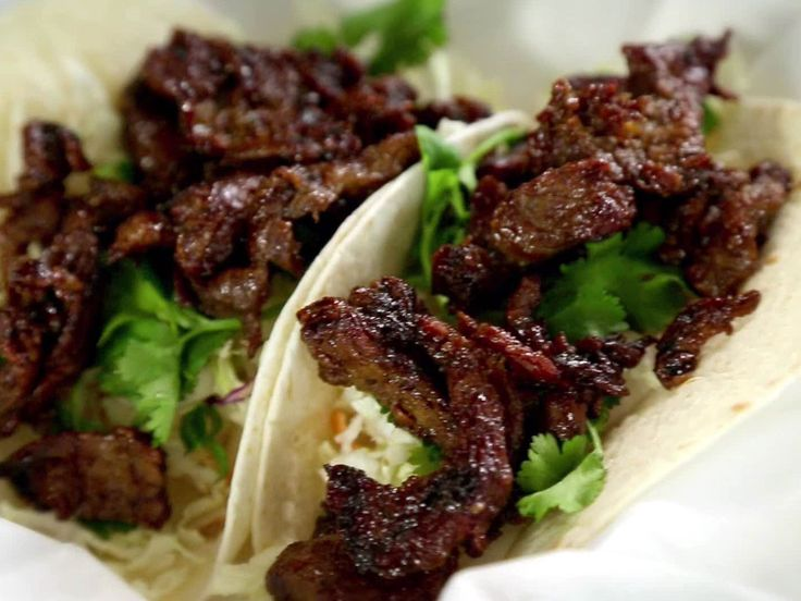 Get this all-star, easy-to-follow Korean Bulgogi Taco Recipe recipe from Diners, Drive-Ins and Dives