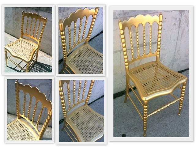 i have a great chair that im going to paint gold! excited.