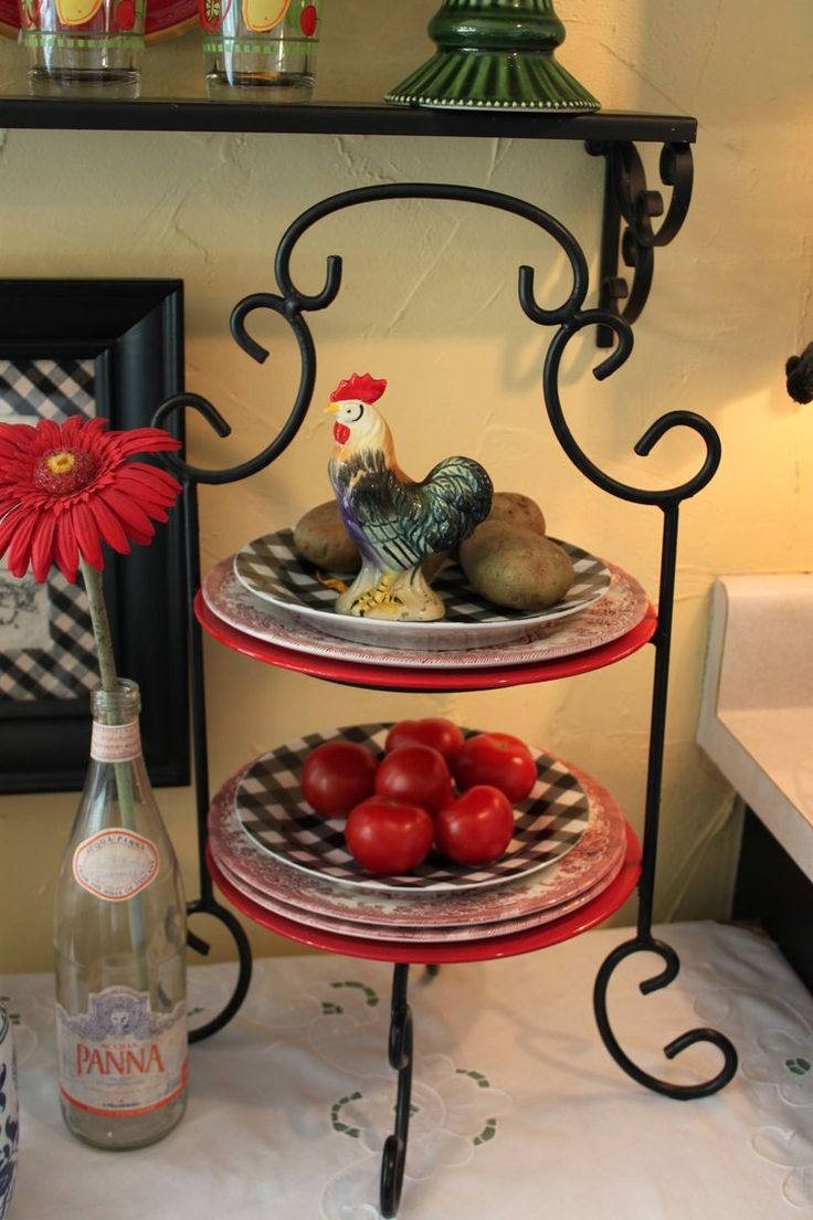 Sunflower kitchen decor blueberries lemons and - Kitchen rooster decor ...