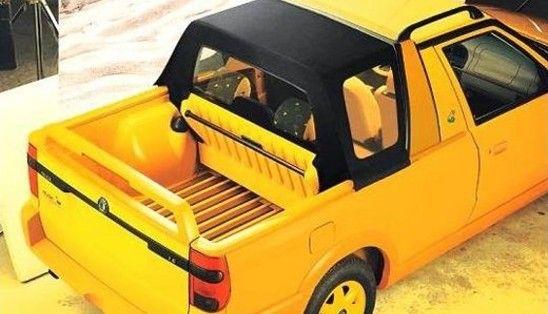 Skoda Felicia Fun pickup bed.