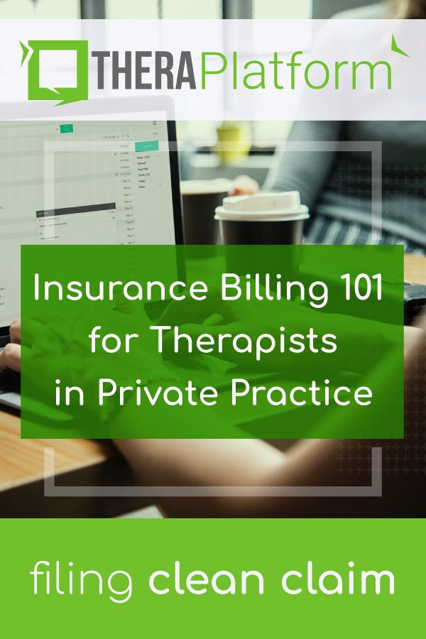 Insurance Billing For Therapists In Private Practice