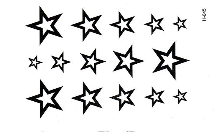 3D  New Design Flash Tattoo Removable Waterproof  Man's Half Sleeve Arm star Temporary Totem Tattoo Stickers Body Art Tatoo DTZE