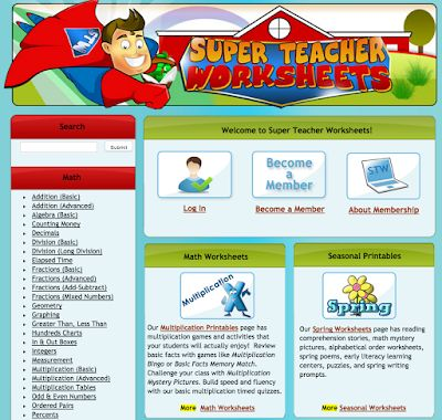 A Good Resource of Educational Worksheets for Teachers
