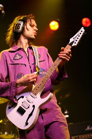 Few can shred like Mr. Big's Paul Gilbert...I've seen him live and it's fun to watch him play.