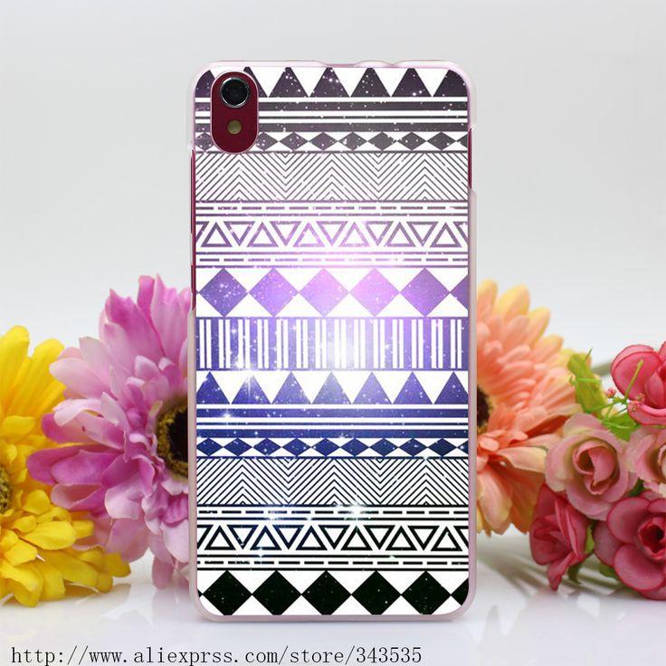 417OP Племени навахо Pattern Печать Жесткий Прозрачный Чехол для Lenovo S850 S60 S90 A536 A328