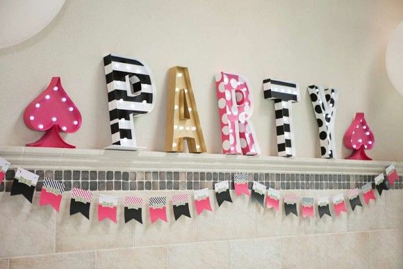 Kate Spade Party Decorations | Catchmyparty.com