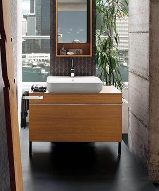 Open Life Washbasin and Teak Bathroom ...  livinghouse.co.uk