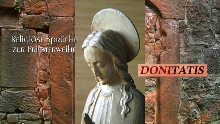 Religiöse Sprüche zur Priesterweihe gehören zu den beliebten christlichen Videos, denn diese Gedichte und Verse tragen die christliche Botschaft bis weit hinaus in die Welt.