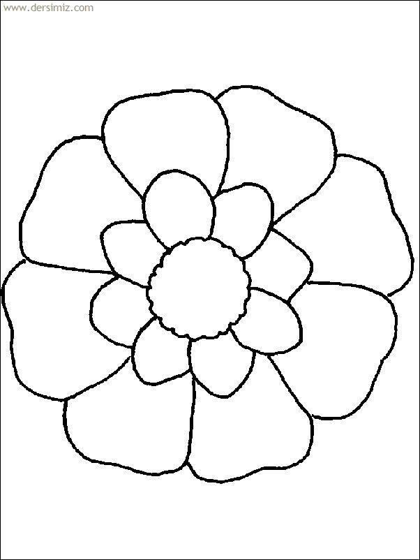10 besten Flower Coloring Pages Bilder auf Pinterest | Malbücher ...