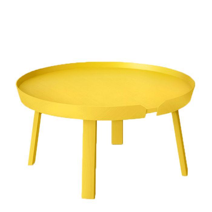 Muuto & Thomas Bentzen's Around Large Coffee Table - 25+ Best Ideas About Yellow Coffee Tables On Pinterest Used