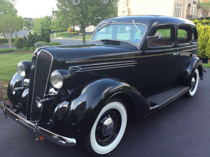 1936 Plymouth P2 Deluxe Touring Sedan 4 Door Sedan | eBay