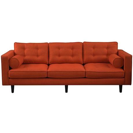 Copenhagen Sofa 3 Seat Lido Burnt Orange (Limited Edition) Lido Burnt Orange
