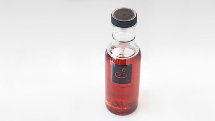 Really Simple Pink Lady Herbal Blossom Tea infused Syrup