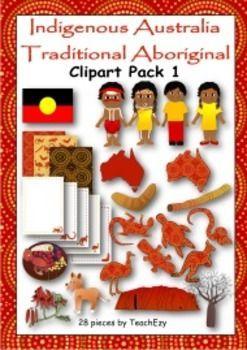 Indigenous Australian Clip Art Pack 2
