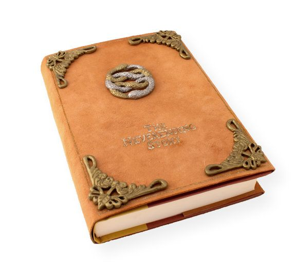 The Neverending Story book Leather dust by CreativeWhimsicality, $39.99(Friggin Awesome)