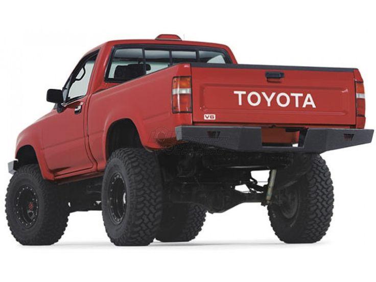 Warn Rock Crawler Rear Bumper for 1989-1995 Toyota Pickup (68490)