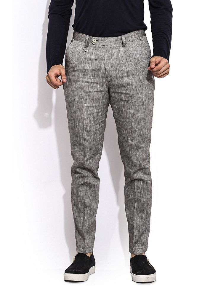 The Textured Cinnamon Linen Trousers #slimfit #trousers #men #cotton #formal #casual #black #blue #beige #linen #solid #stripes #print #buy #online #anytimewear #plain #printed  For more visit mrbutton.in/product-category/bottoms/