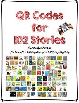 Kindergarten: Holding Hands and Sticking Together: QR Codes