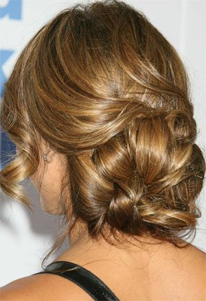 Opinions needed for wedding day hairstyle-LOTS of pictures from hair trial :  wedding wedding hairstyle Alba Hairstyle Updo2