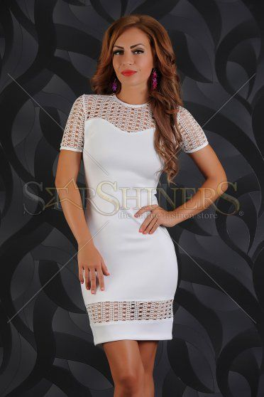 Rochie LaDonna Fascinating White