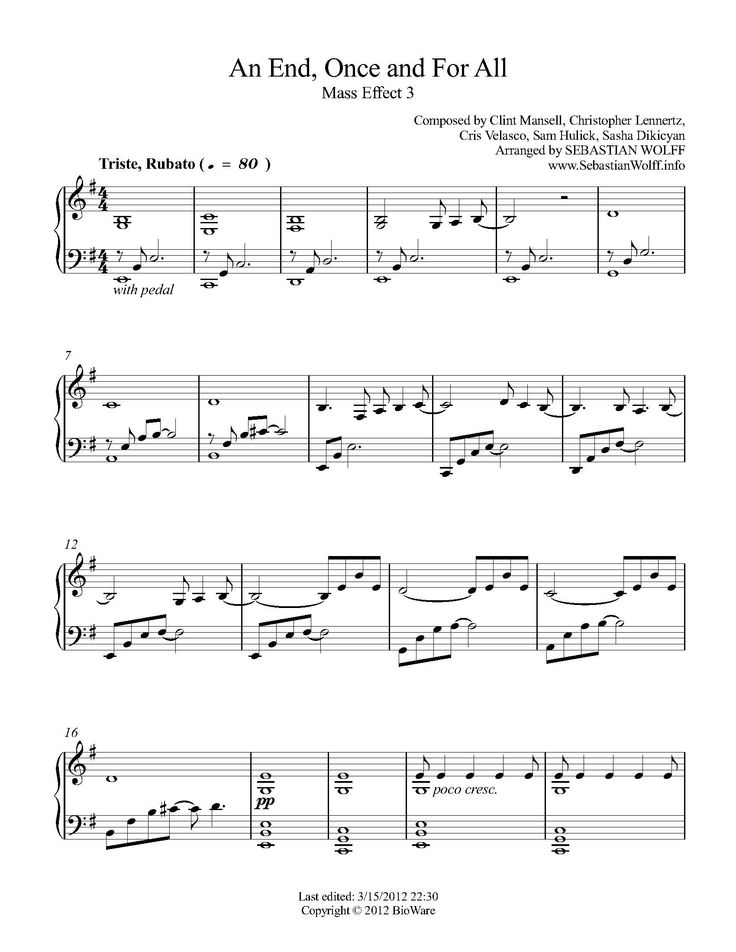 Linkin Park-In The End Free Sheet Music Download PDF