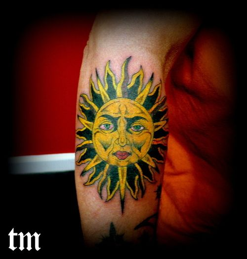 Tattoo Picture At Checkoutmyink Com: 34 Best Sun Face Tattoo Images On Pinterest