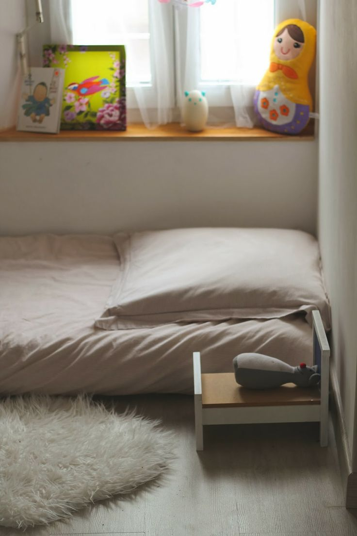 184 best images about montessori floor bed on pinterest for Chambre montessori