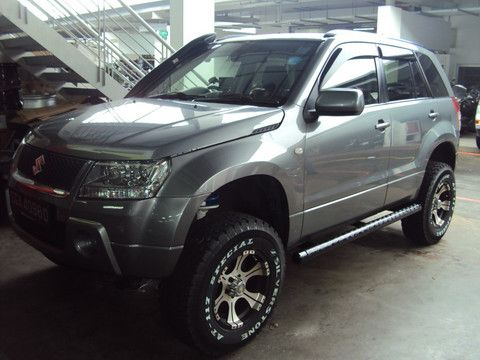 Revo Performance Pte Ltd — TOP-R lift kits - Suzuki Grand Vitara