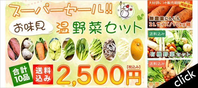 温野菜セット2,500円