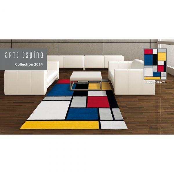 Tapis Coloured Cubes Multicolore Arte Espina Tapis Arte Espina