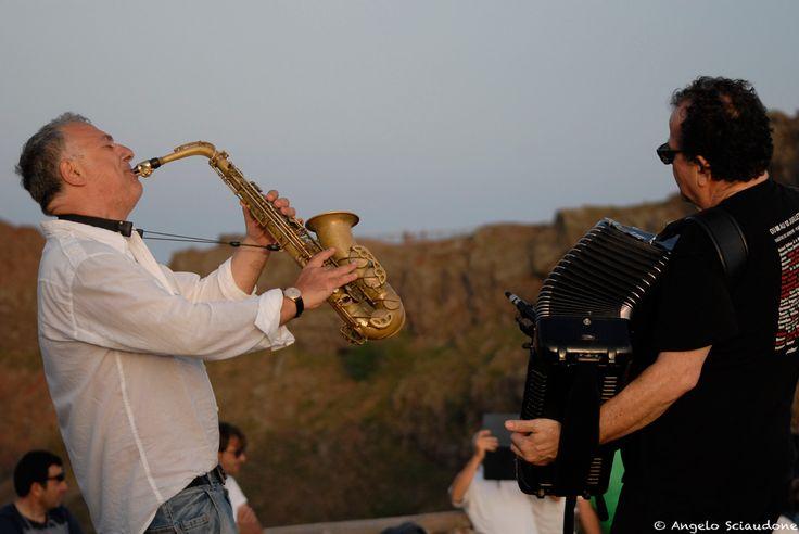 Richard Galliano - Marco Zurzolo: concerto sul cratere del Vesuvio